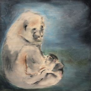 Mother gorilla 2011 by Ann Shenfield