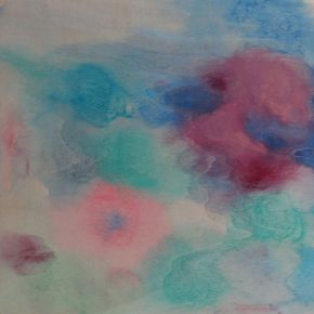 Pink and blue 2013 by Ann Shenfield