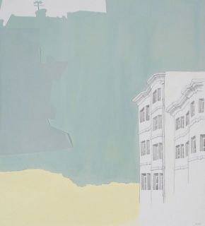 Rooftop View 2011 by Annalise Rees