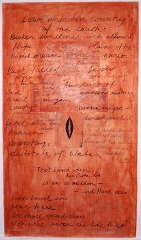 View works from Mildura Palimpsest # 1-4, 1998-2004