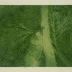 chris-bond--scraper--2018--watercolour-on-paper--7.5-x-10-cm