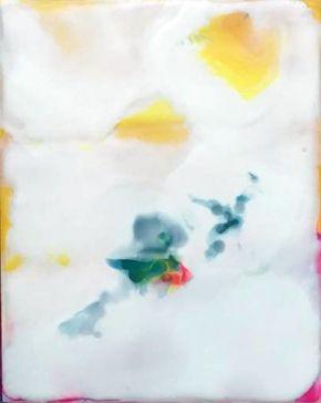 Greta Gerwig Yellow 1 [SOLD] by Colleen DaRosa