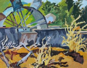 Waterwheel 2 2018 by Elizabeth Nelson