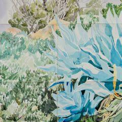 A Midsummer Day's Dream, detail 4 2018 by Elizabeth Nelson