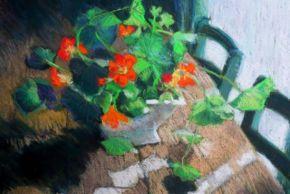 Flowers Still Life by Ingrid Heward