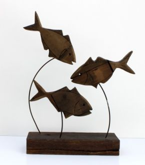 swam-three-littlle-fishies by Liz Walker