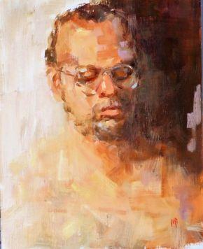 The Thinker by Melanie Bardolia