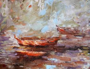 Floating by Melanie Bardolia