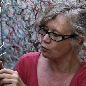 Image result for Fleur Brett sculptor, weaving painter