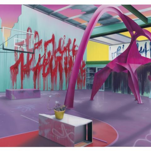 Heavy Metal Gym Junkie by DARREN WARDLE