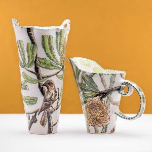 Banksia Serata Vessel and Pitcher