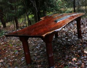 Shattered Dreams Leaf Table by Malcolm Bird