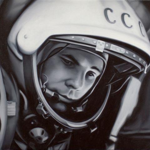 Yuri Gagarin by TONY LLOYD