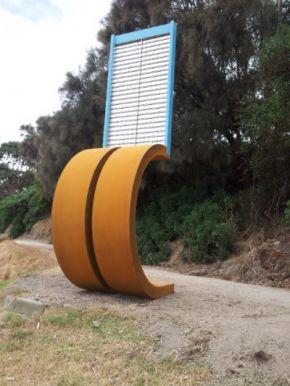 'Landfall' Lorne Sculpture Biennale