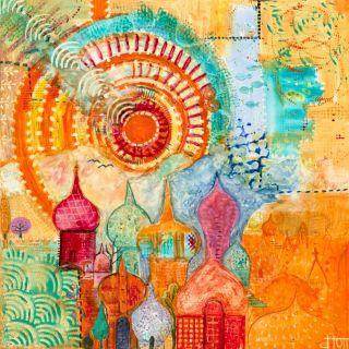 Sunny Day City 2 by Veena Merchant 2