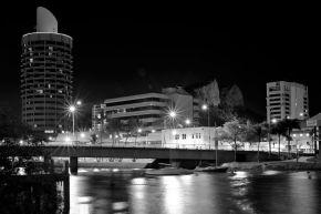 Dean St Bridge 8pm by Neil Binnie