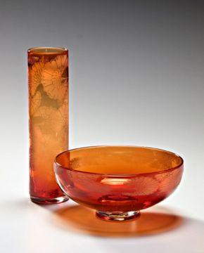 Vase%20&%20Bowl;%20Japanese%20Flower%20pattern
