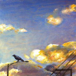 blackbird-perched