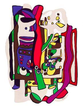 Tabletop Garden III by Rachel Rovay