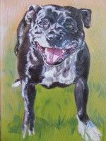 Brownie, my Dad's dog 2016 by Susan Piesse