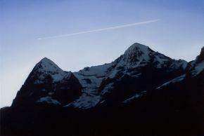 Eiger and Mönch by Tony Lloyd