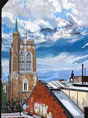 The bells of Saint David's by Tony Sowersby
