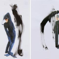 drawing, gesture, 2015 by Nicci Haynes