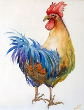Bantam Cockeral (Sold) $1200