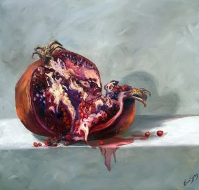 Luscious Fruit 1- Pomegranate $1200